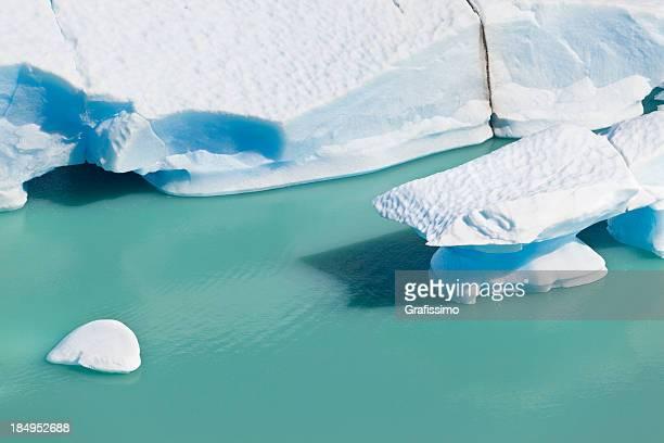 Argentinien Patagonien Eisschollen, des Perito Moreno Glacier