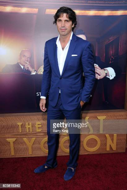 Argentina Polo Player Ignacio 'Nacho' Figueras attends the premiere of Amazon Studios' 'The Last Tycoon' at the Harmony Gold Preview House and...