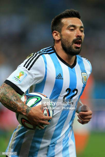 Argentina's Ezequiel Lavezzi