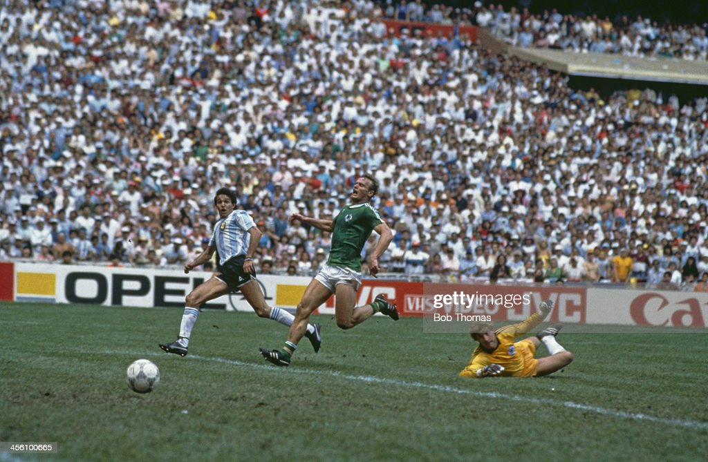 FILE - Germany v Argentina Past World Cup Meetings