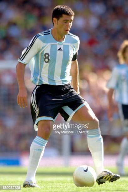 Argentina's Juan Roman Riquelme