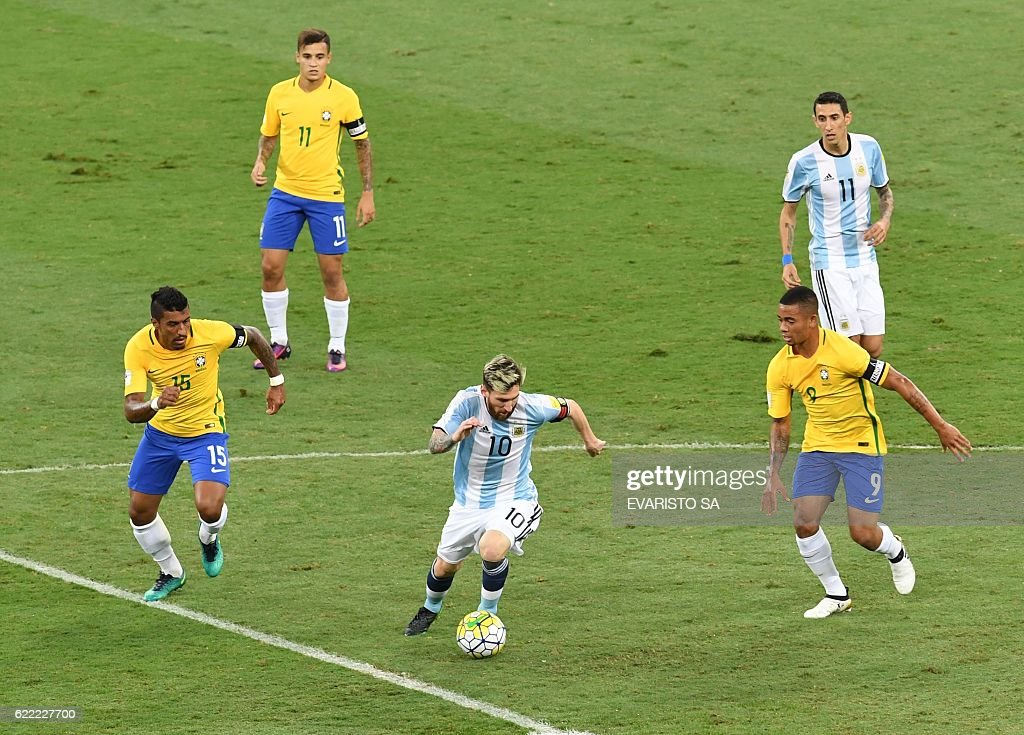 FBL-WC-2018-BRA-ARG : News Photo