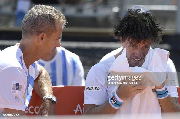 TENNIS-DAVIS-ARG-ITA : News Photo