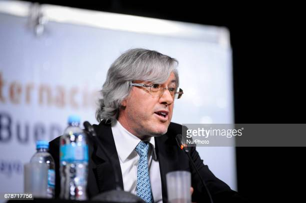 Argentina´s writer and businessman Alejandro Roemmers during a press conference at the Buenos Aires International Book Fair in Buenos Aires Argentina...