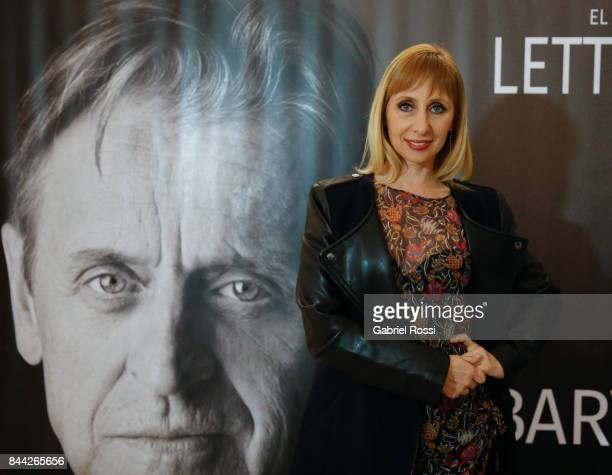 Argentine ballet dancer Eleonora Cassano poses for a photo during the Opening Night of the play 'Letter to a Man' at Teatro Coliseo on September 7...