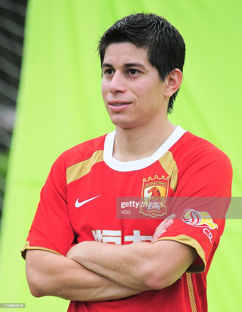 Dario Leonardo Conca Press Conference In Guangzhou s and