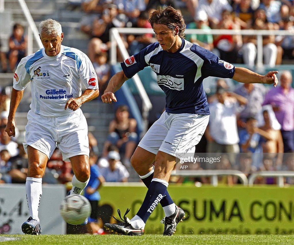 Argentine former football players Fernan