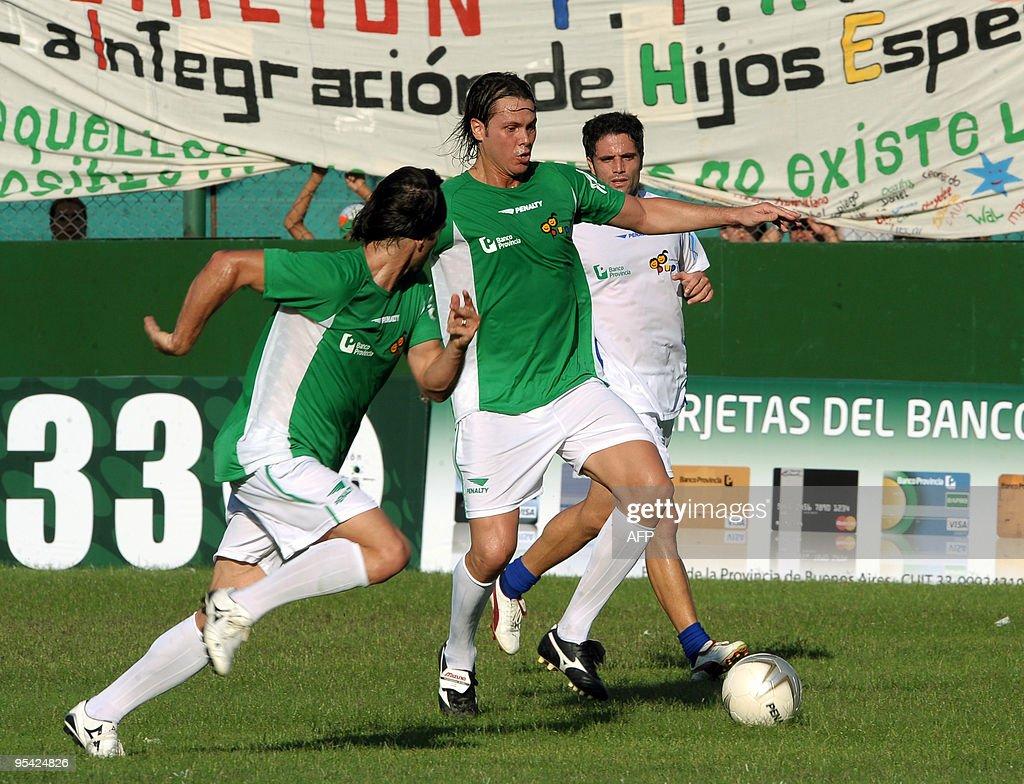 Argentine former footballer Fernando Red