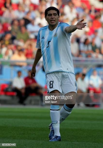 RIQUELME Argentine / Mexique 1/2 Finale Coupe des Confederations