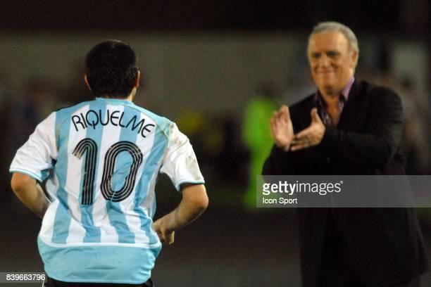 RIQUELME / BASILE Argentine / Mexique 1/2 Finale de la Copa America 2007 Venezuela