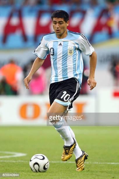 RIQUELME Argentine / Mexique Coupe du Monde 2006