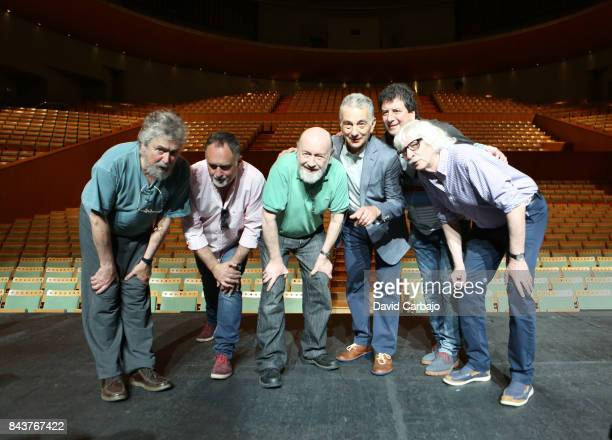 'LES LUTHIERS' Argentine music group with its components Carlos Nunez Daniel Rabinovich Marcos Mundstock Jorge Maronna Ernesto Arche and Carlos Lopez...