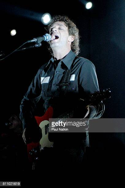 Argentine musician Gustavo Cerati performs in Chicago Illinois July 29 2003