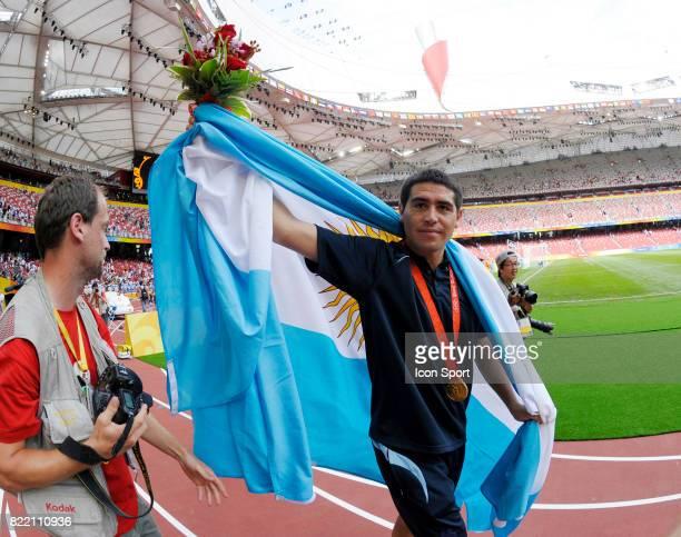 RIQUELME Argentine / Nigeria Finale Football Jeux Olympiques 2008 Pekin