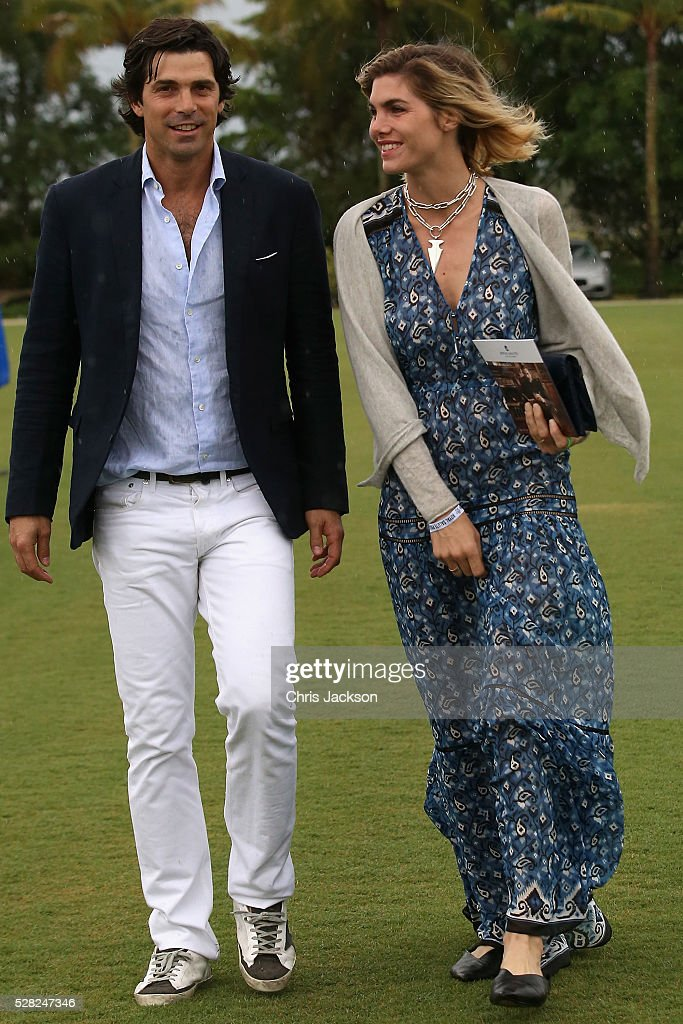 Argentine polo player <a gi-track='captionPersonalityLinkClicked' href=/galleries/search?phrase=Nacho+Figueras&family=editorial&specificpeople=2308997 ng-click='$event.stopPropagation()'>Nacho Figueras</a> (L) and <a gi-track='captionPersonalityLinkClicked' href=/galleries/search?phrase=Delfina+Blaquier&family=editorial&specificpeople=4418052 ng-click='$event.stopPropagation()'>Delfina Blaquier</a> attend the Sentebale Royal Salute Polo Cup in Palm Beach with Prince Harry at Valiente Polo Farm on May 4, 2016 in Palm Beach, United. The event will raise money for Prince Harry's charity Sentebale, which supports vulnerable children and young people living with HIV in Lesotho in southern Africa.