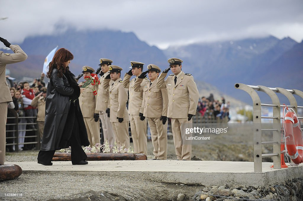 Argentine President Remembers The Falklands War on its 30th Anniversary