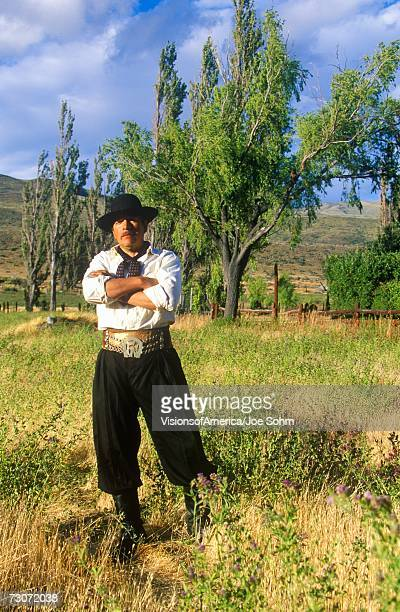 'Argentinean gaucho cowboy in El Calafate, Patagonia, Argentina'