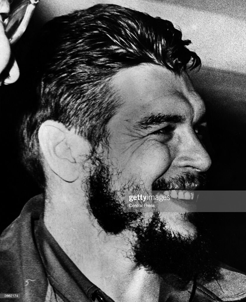 Argentine-born Cuban revolutionary Ernesto <a gi-track='captionPersonalityLinkClicked' href=/galleries/search?phrase=Che+Guevara&family=editorial&specificpeople=67207 ng-click='$event.stopPropagation()'>Che Guevara</a> (1928 - 1967).