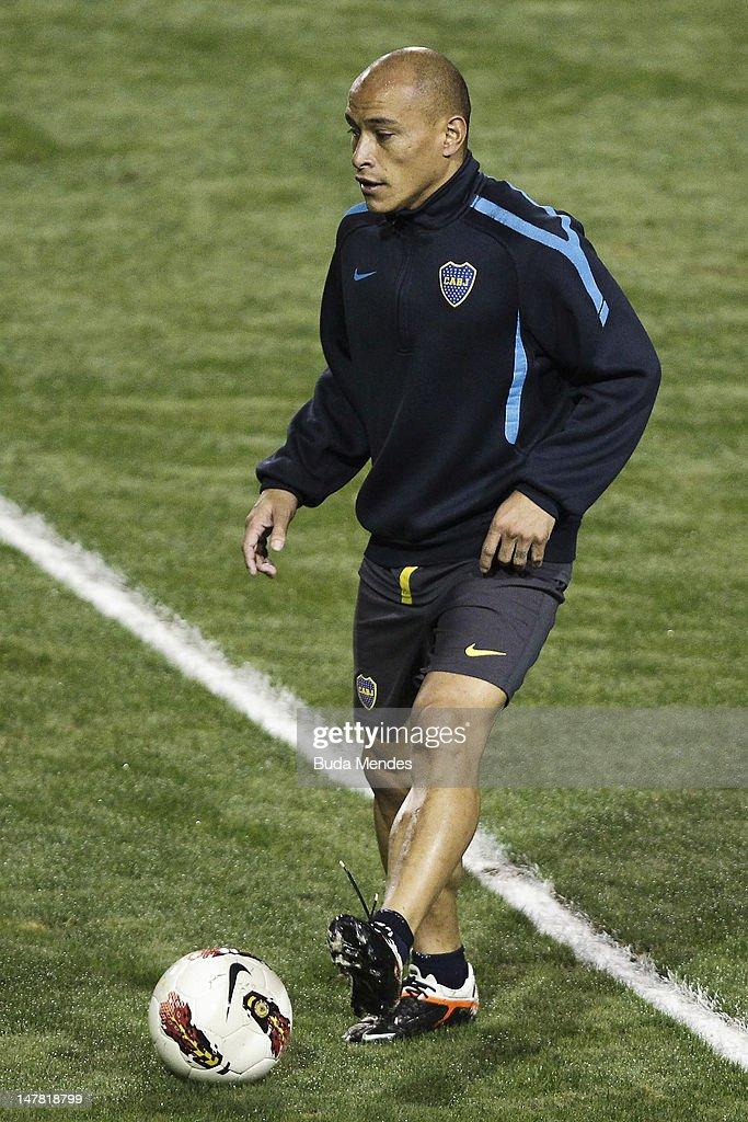 Boca Juniors Training Session in Sao Paulo