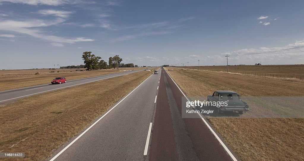 Argentinian country road : Stock Photo