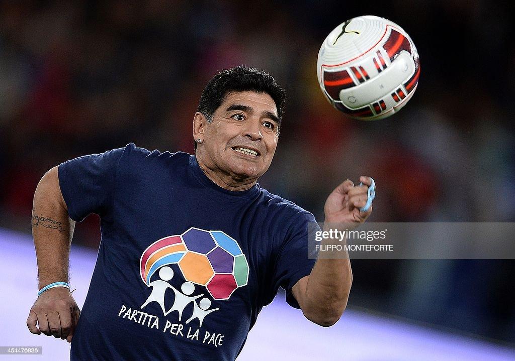 Diego Armando Maradona 2014