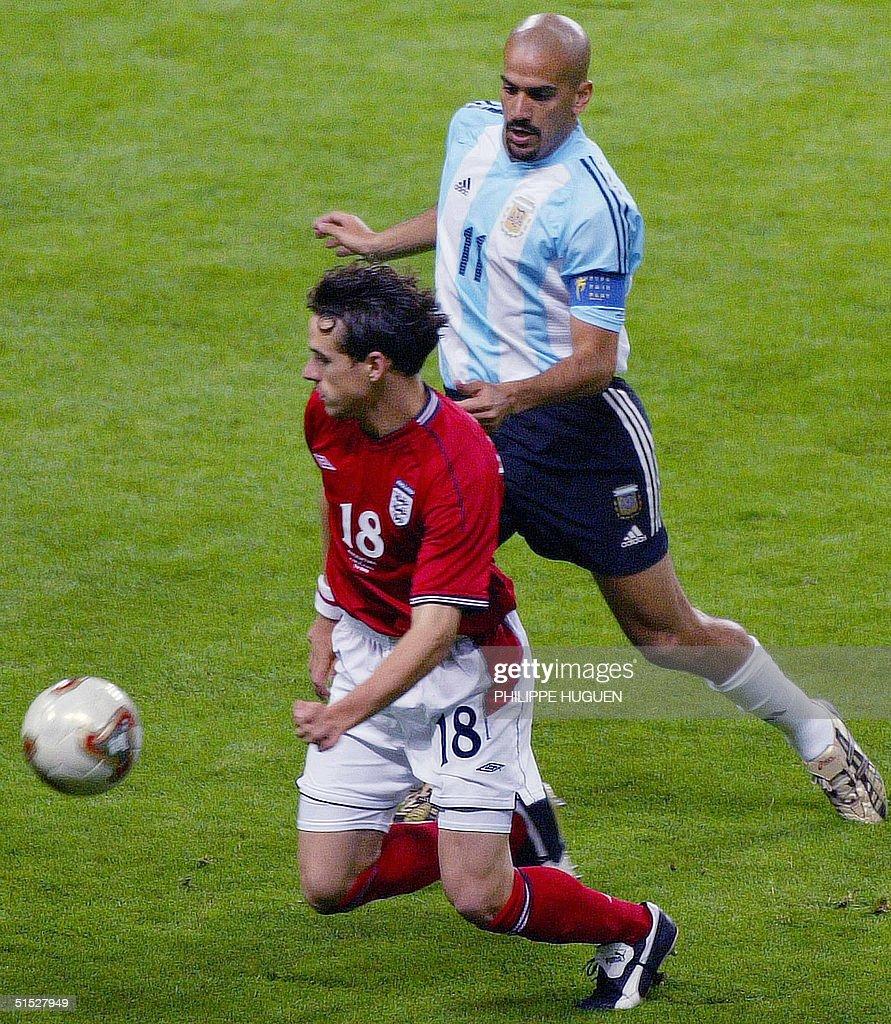Argentinian midfielder and captain Juan Sebastian