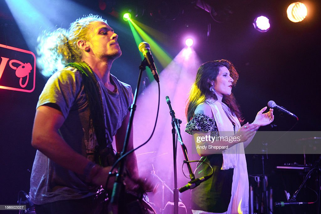 Argentinian singer Corina Piatti performs at Barfly during the London Jazz Festival 2012 on November 13, 2012 in London, United Kingdom.