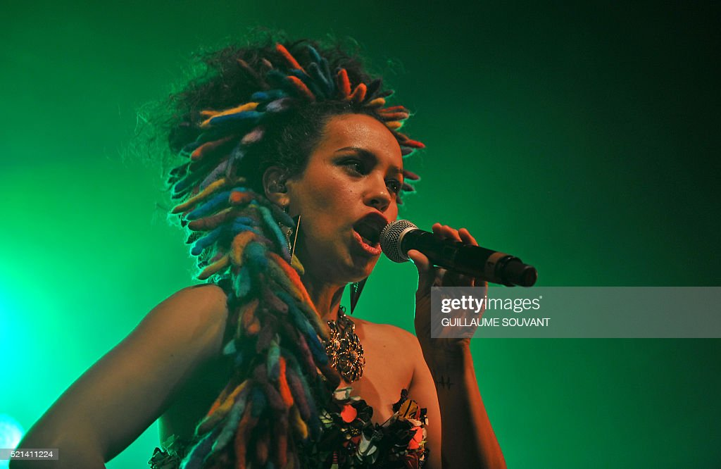 argentinian singer mariana yegros aka la yegros performs during the pictures getty images. Black Bedroom Furniture Sets. Home Design Ideas