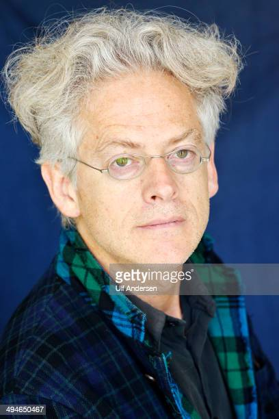 Argentinian writer Santiago Amigorena poses during a portrait session held on May 23 2014 in Lyon France