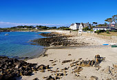 Argenton in Finistere in Brittany, France