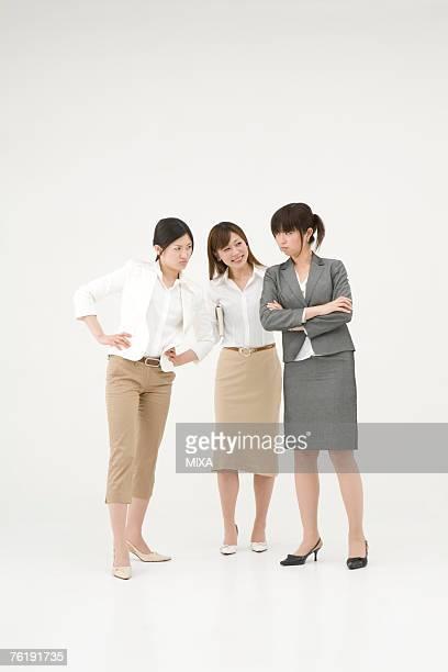 Arguing businesswomen