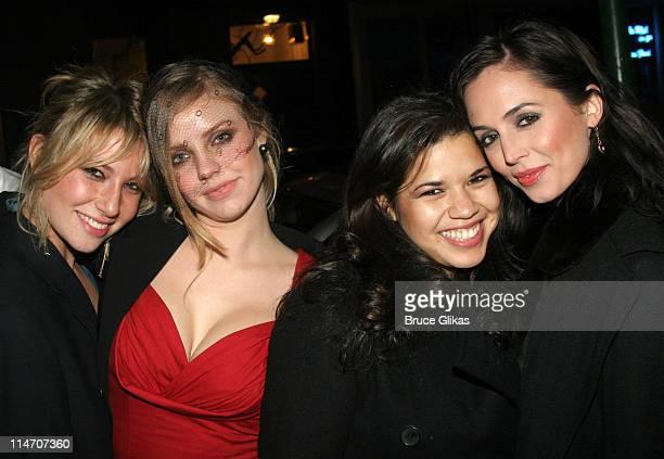 Ari Graynor Kelli Garner America Ferrera and Eliza Dushku