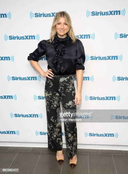 Ari Graynor visits at SiriusXM Studios on June 6 2017 in New York City