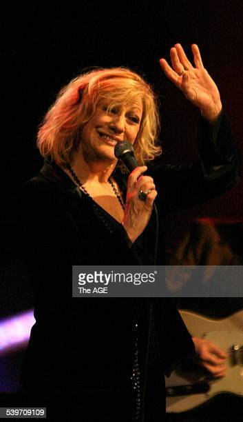 Aria Icons Hall of Fame Pictured is Renee Geyer 14 July 2005 The AGE Picture by MELANIE FAITHDOVE