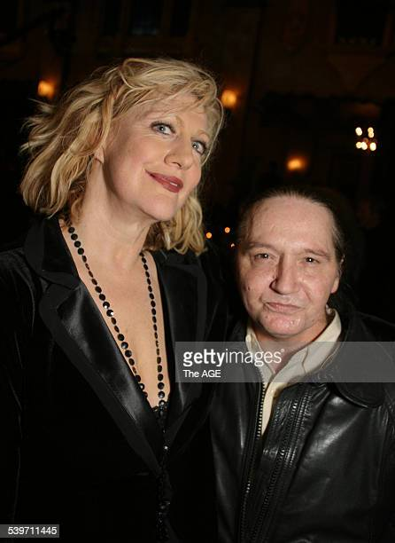 Aria Icons Hall of Fame Pictured is Renee Geyer with Stevie Wright 14 July 2005 The AGE Picture by MELANIE FAITHDOVE