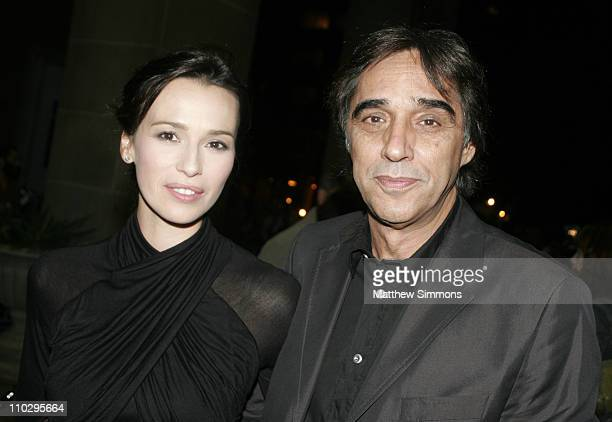 Ariadna Gil and Agustin Diaz director during 31st Annual Toronto International Film Festival 'Alatriste' Premiere at Ryerson in Toronoto Canada