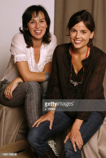Ariadna Gil and Elena Anaya during 31st Annual Toronto International Film Festival 'Alatriste' Portraits at Portrait Studio in Toronto Ontario Canada