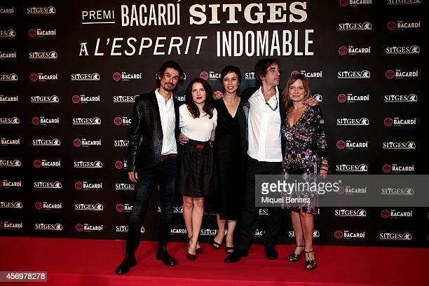 Ariadna Gil attends a photocall for the 'Bacardi Sitges' Awards 2014 held at the Casa Barcardi during the '47th Sitges Film Festival 2014' on October...