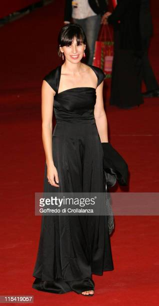 Ariadna Gil during 1st Annual Rome Film Festival 'Alatriste' Premiere in Rome Italy