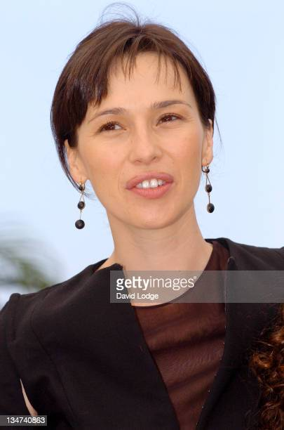 Ariadna Gil during 2006 Cannes Film Festival El Laberinto del Fauno Photocall at Palais des Festival Terrace in Cannes France