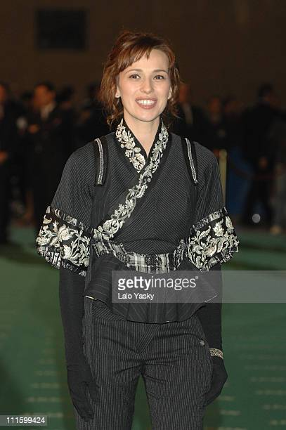 Ariadna Gil during 2007 Goya Awards Arrivals at Palacio de Exposiciones in Madrid Spain