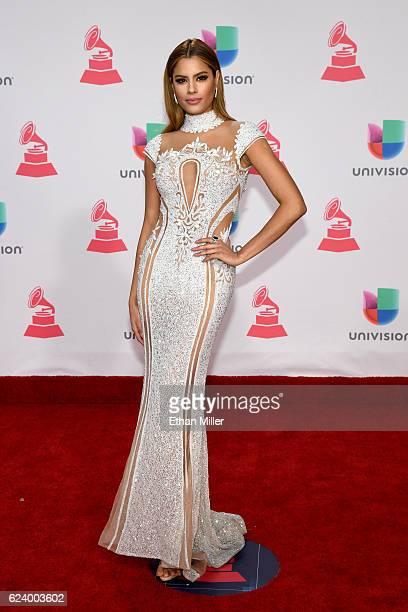 Ariadna Gutiérrez attends The 17th Annual Latin Grammy Awards at TMobile Arena on November 17 2016 in Las Vegas Nevada
