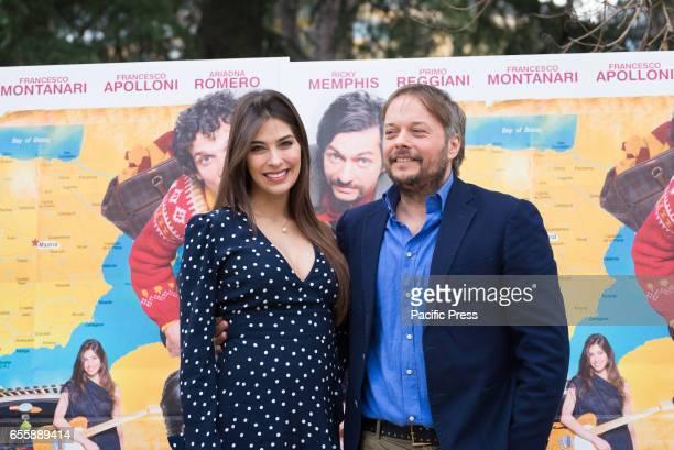 Ariadna Romero and Roberto Capucci attends the photocall of 'Ovunque Tu Sarai'