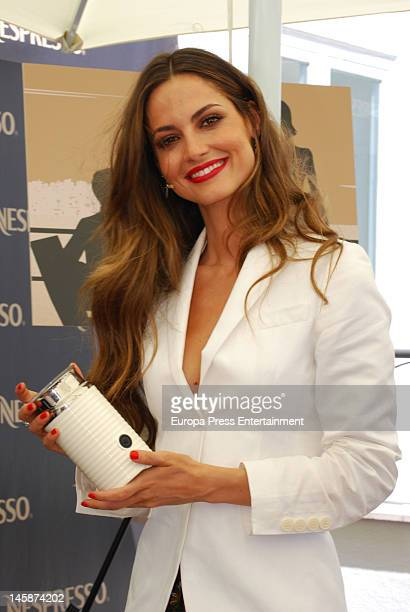 Ariadne Artiles attends a Nespresso event on June 6 2012 in Madrid Spain