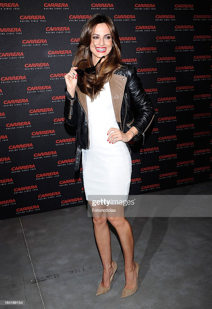 <a gi-track='captionPersonalityLinkClicked' href=/galleries/search?phrase=Ariadne+Artiles&family=editorial&specificpeople=714754 ng-click='$event.stopPropagation()'>Ariadne Artiles</a> attends 'Carrera Ignition Night' at The Matadero on March 20, 2013 in Madrid, Spain.