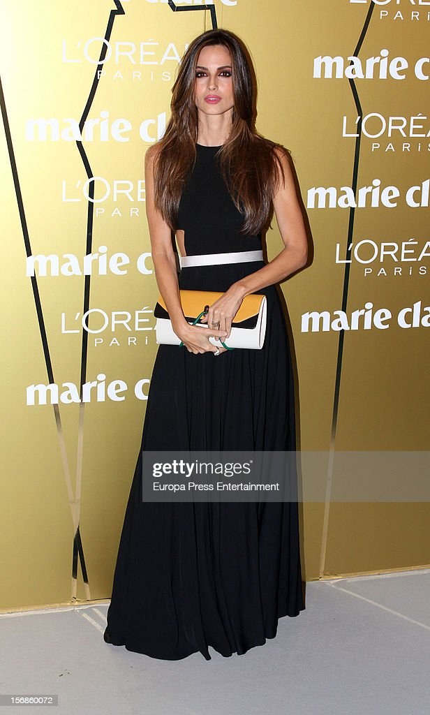 <a gi-track='captionPersonalityLinkClicked' href=/galleries/search?phrase=Ariadne+Artiles&family=editorial&specificpeople=714754 ng-click='$event.stopPropagation()'>Ariadne Artiles</a> attends Marie Claire Prix de la Moda Awards 2012 on November 22, 2012 in Madrid, Spain.