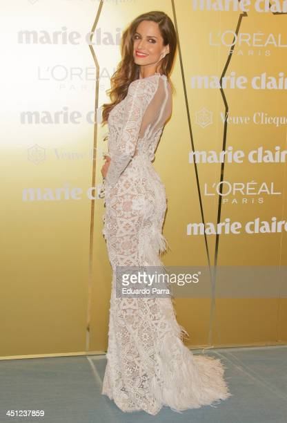 Ariadne Artiles attends 'Marie Claire Prix de la moda' awards 2013 photocall at Residence of France on November 21 2013 in Madrid Spain