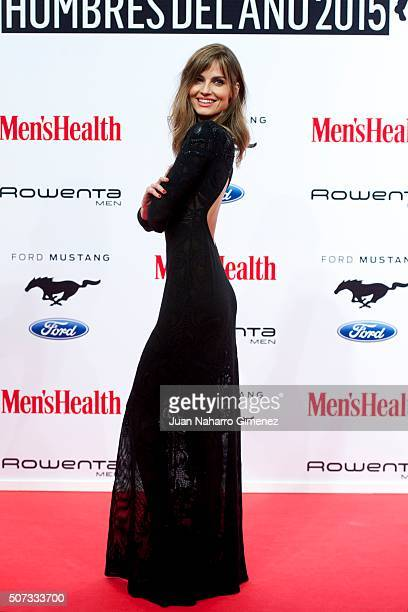 Ariadne Artiles attends Men's Health 2015 Awards on January 28 2016 in Madrid Spain