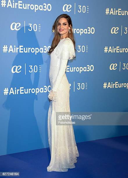 Ariadne Artiles attends the Air Europa 30th Anniversary Event at Palafox Cinema on December 2 2016 in Madrid Spain