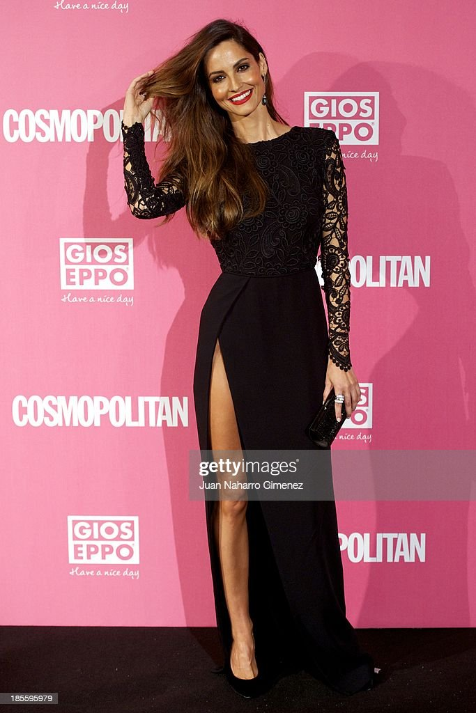 <a gi-track='captionPersonalityLinkClicked' href=/galleries/search?phrase=Ariadne+Artiles&family=editorial&specificpeople=714754 ng-click='$event.stopPropagation()'>Ariadne Artiles</a> attends the Cosmopolitan Fun Fearless Female Awards 2013 at the Ritz Hotel on October 22, 2013 in Madrid, Spain.